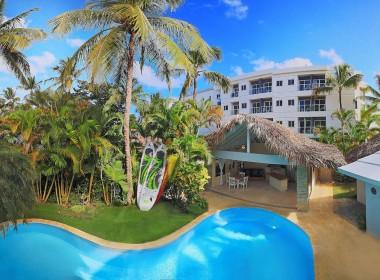 Newly renovated Beach side villa 2