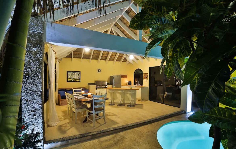 Beach side villa