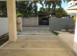 Modern tropical house steps from the beach 37