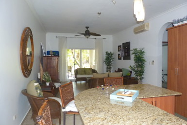 Ground floor condo in Cabarete